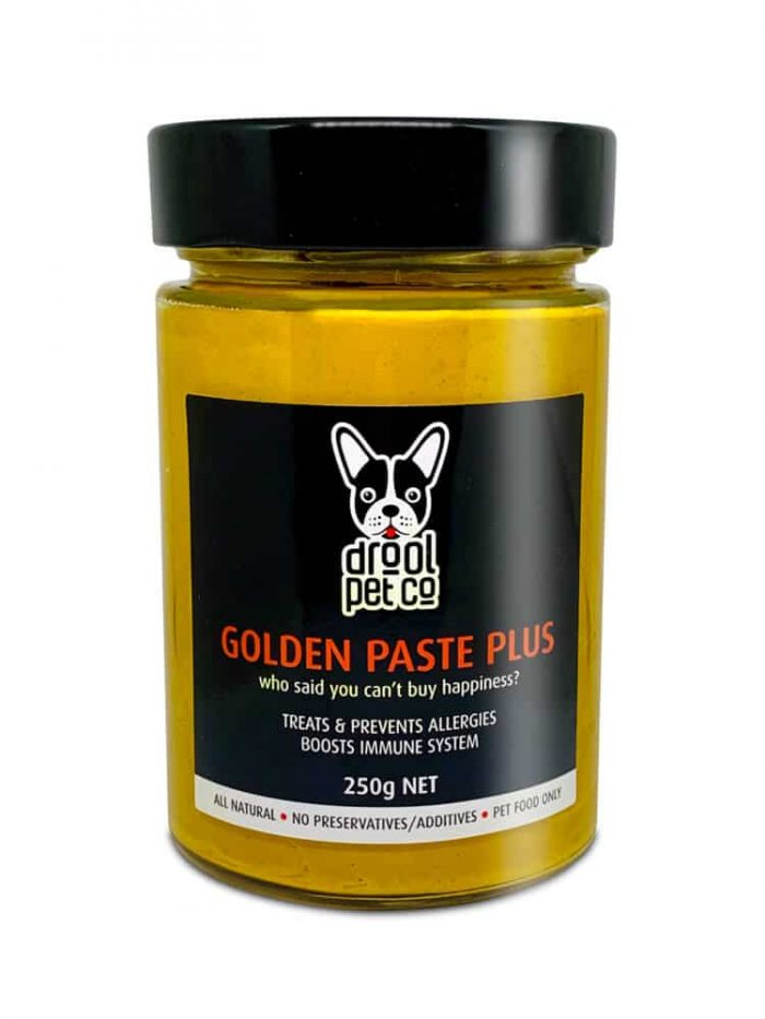 golden paste for dogs in 250g bottle