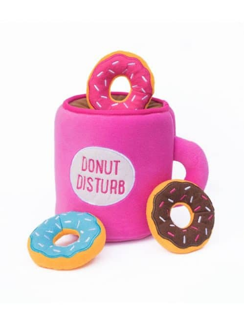 Drool Pet Co. donut disturb toy.pic